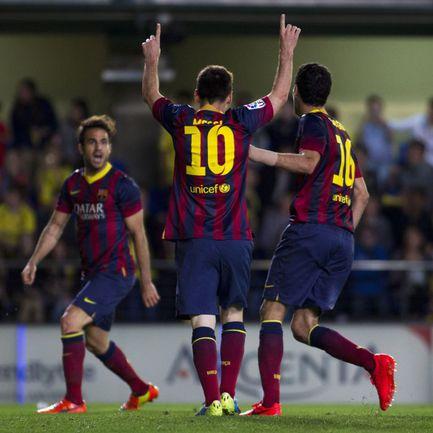 """Лионель МЕССИ и его """"Барселона"""" могут стать чемпионами Испании. А могут уже в этом туре потерять шансы на титул. Фото AFP"""