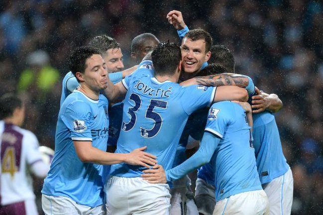 """Футболистов """"Манчестер Сити"""" отделяет от титула всего одна победа. Фото REUTERS"""