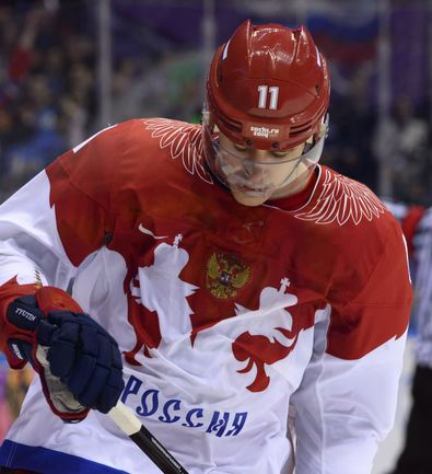 В ближайшее время Евгений МАЛКИН вновь примерит форму сборной России. Фото REUTERS