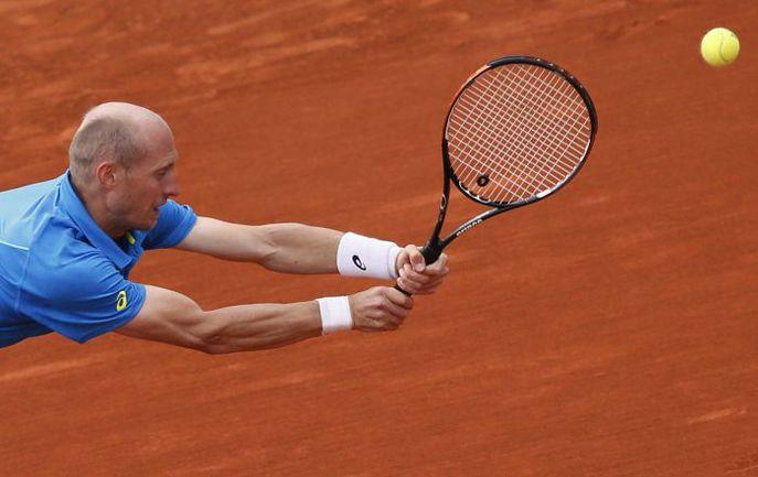 Николай ДАВЫДЕНКО цепляется за шанс остаться в теннисе. Фото AFP