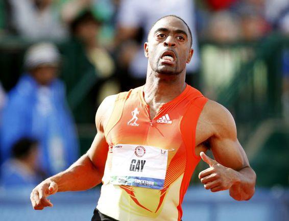 Много лет Тайсон ГЭЙ пытался обогнать Усэйна Болта. Пока не попался на допинге. Фото Reuters