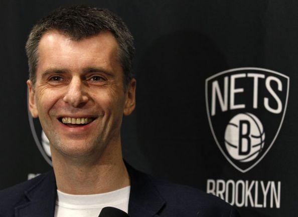 Перед началом сезона-2013/14 Михаил ПРОХОРОВ был преисполнен оптимизма. Фото REUTERS