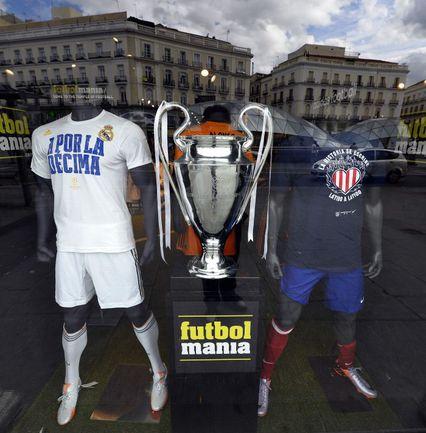 Победитель Лиги чемпионов-2013/14 определится сегодня. Фото AFP