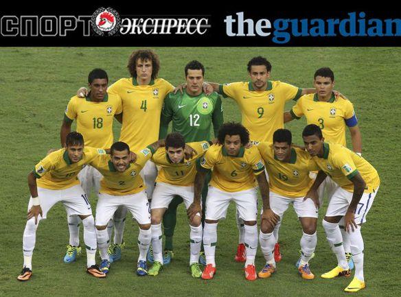 """""""СЭ"""" и The Guardian представляют: сборная Бразилии"""