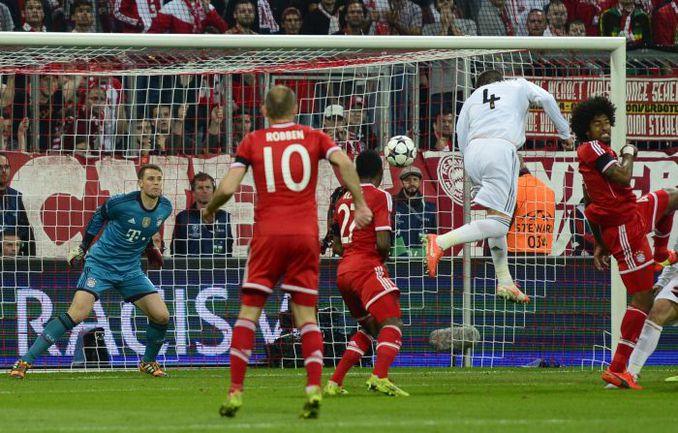 """По мнению Йохана Кройфа, """"Реалу"""" СЕРХИО РАМОСА посчастливилось обыграть """"Баварию"""" и стать лучшим в Европе. Фото AFP"""
