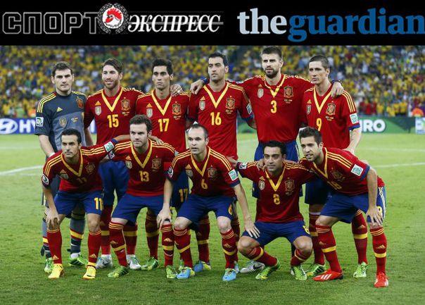 """СЭ"" и The Guardian представляют: сборная Испании"
