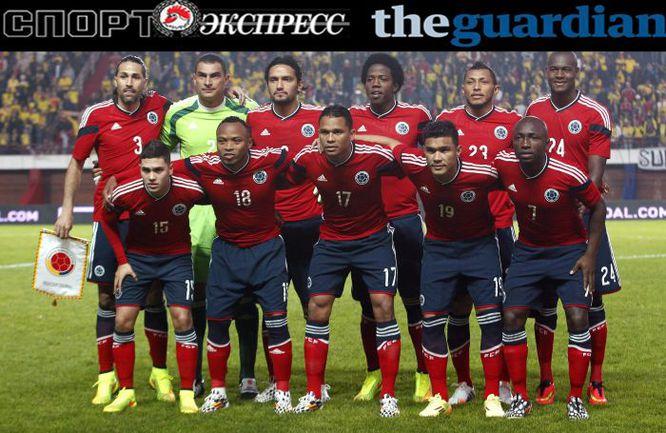 """СЭ"" и The Guardian представляют:  сборная Колумбии"