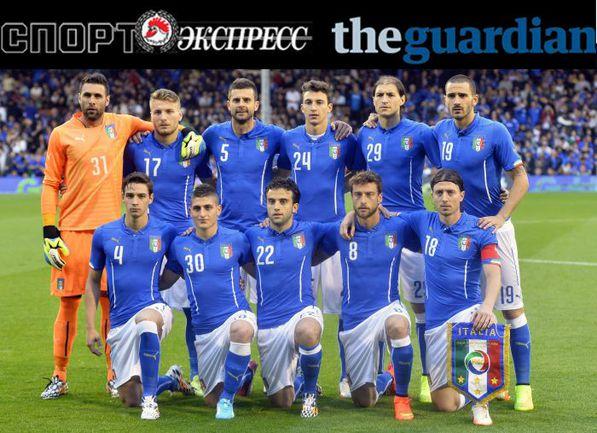 """""""СЭ"""" и The Guardian представляют: сборная Италии"""