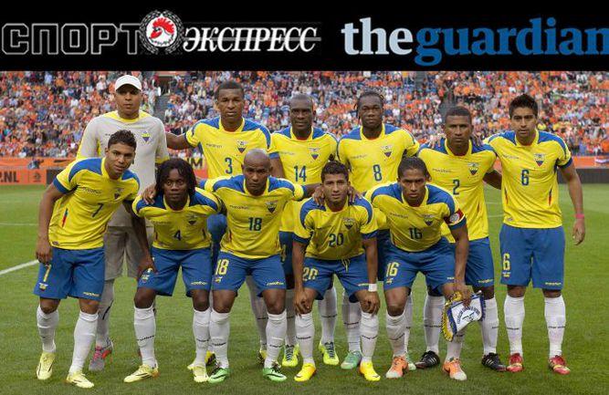 """""""СЭ"""" и The Guardian представляют:  сборная Эквадора"""