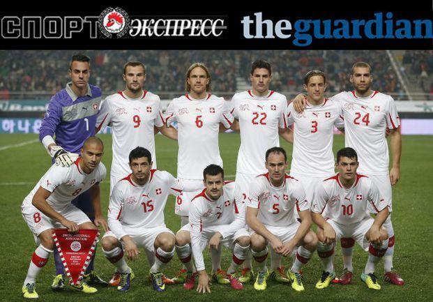 """""""СЭ"""" и The Guardian представляют:  сборная Швейцарии"""