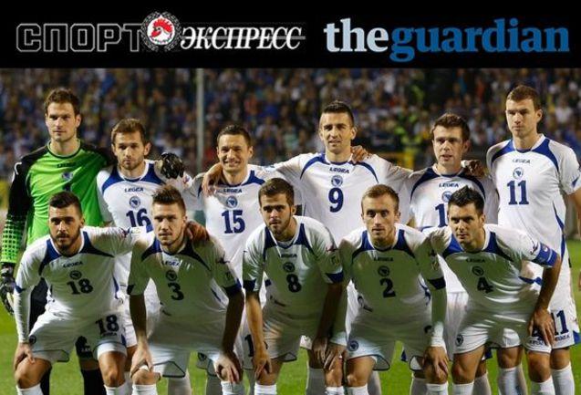 """""""СЭ"""" и The Guardian представляют:  сборная Боснии"""