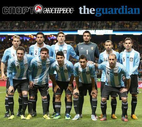 """""""СЭ"""" и The Guardian представляют: сборная Аргентины"""