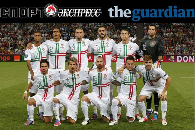 """""""СЭ"""" и The Guardian представляют:  сборная Португалии"""