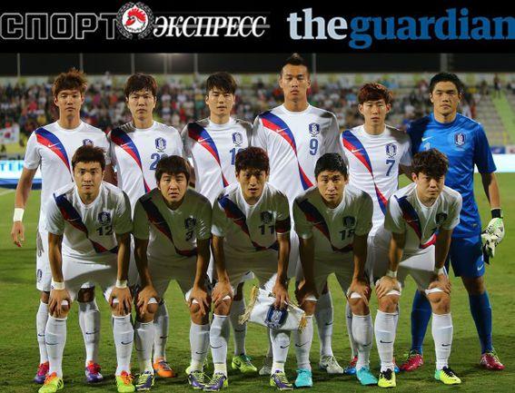 """СЭ"" и The Guardian представляют:  сборная Кореи"