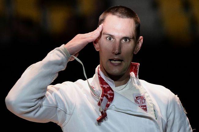 Вчера. Страсбург. Венгр Андраш РЕДЛИ стал чемпионом Европы. Фото AFP