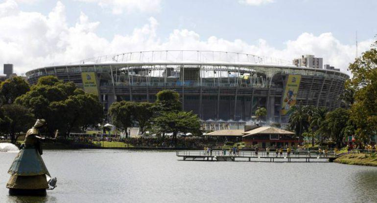 """Стадион в Салвадоре - """"Арена Фонте Нова"""". Фото REUTERS"""