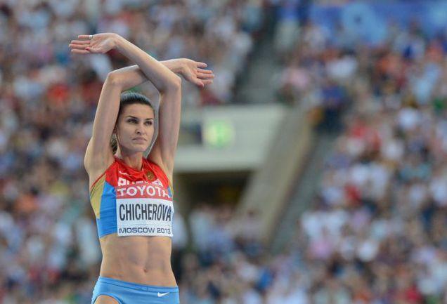 Осло ждет супербитва двух лучших прыгуний в высоту - Анны ЧИЧЕРОВОЙ из России и Бланки Власич из Хорватии. Фото AFP