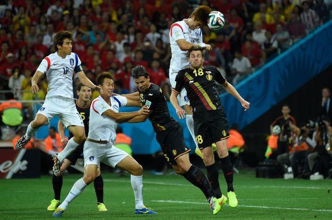 Сегодня. Сан-Паулу. Корея – Бельгия – 0:1. Корейцы так и не смогли пробить Тибо Куртуа. Фото REUTERS