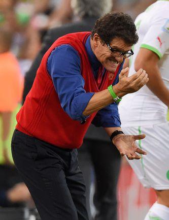 Вчера. Куритиба. Алжир - Россия - 1:1. Эмоции Фабио КАПЕЛЛО. Фото AFP