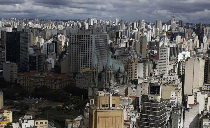 Сан-Паулу с высоты птичьего полета. Фото REUTERS