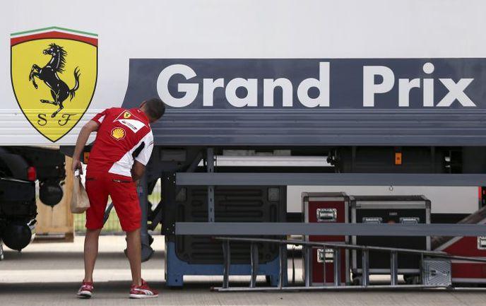 """Команды активно готовятся к """"Гран-при Великобритании"""". Фото REUTERS"""