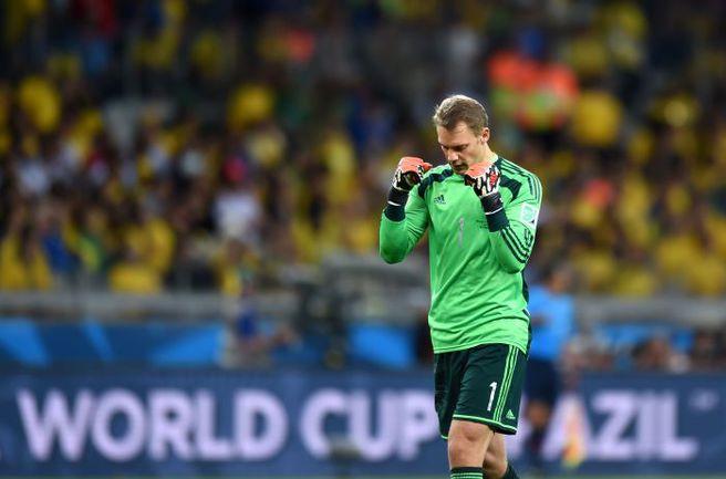 Мануэль НОЙЕР - победитель и лучший вратарь ЧМ-2014. Фото AFP