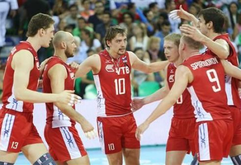 Россияне не смогли одолеть сборную Бразилии. Фото FIVB