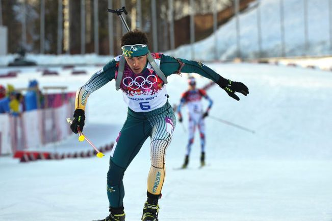 Алексей АЛЬМУКОВ на Олимпиаде-2014 в Сочи. Фото AFP