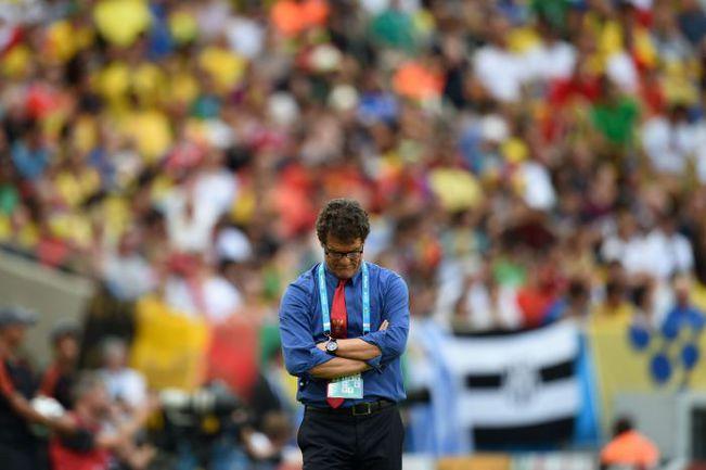 Июнь. Бразилия. Фабио КАПЕЛЛО. Фото AFP