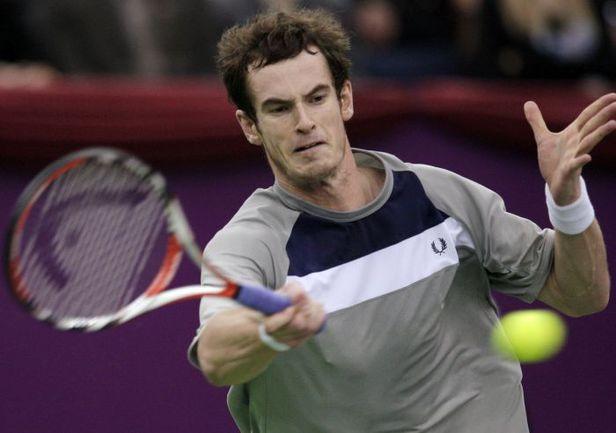 Энди МАРРЭЙ на турнире St. Petersburg Open. Фото REUTERS