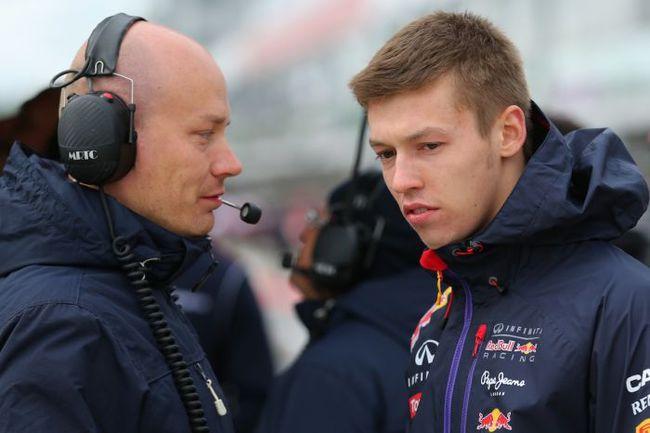 Даниил КВЯТ (справа). Фото Александр РОМАНОВ/f1news.ru