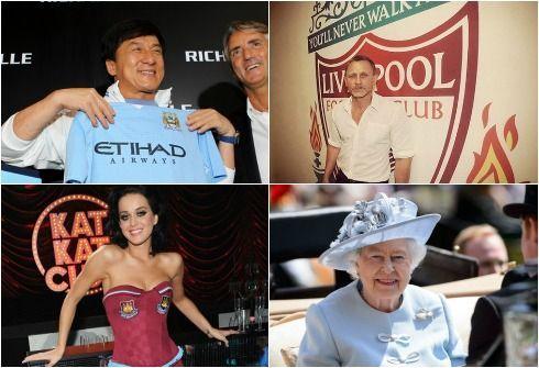 Манчестер сити известные болельщики