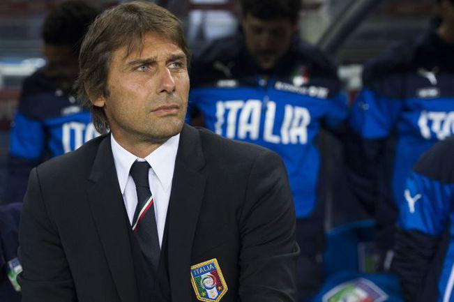 Антони КОНТЕ - главный тренер сборной Италии. Фото REUTERS