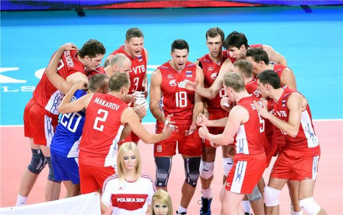 Среда. Вроцлав. Россия - Финляндия - 3:0. Есть шестая победа подряд! Фото fivb.org