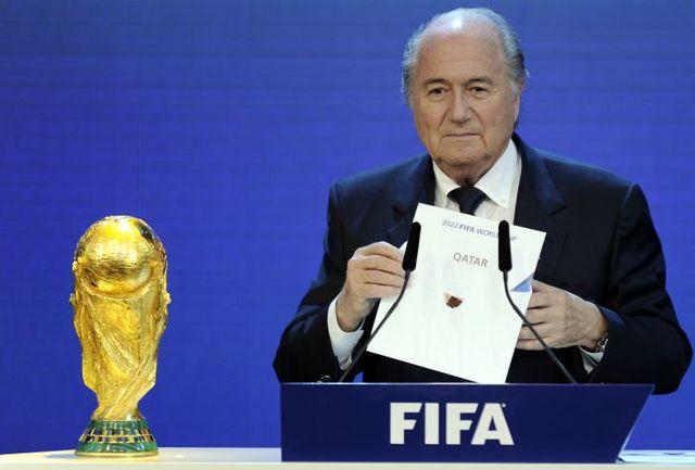 2 декабря 2010 года. Цюрих. Глава ФИФА Зепп БЛАТТЕР to не знает, сколько критики будет в его адрес после того, как хозяином ЧМ-2022 станет КАТАР. Фото REUTERS