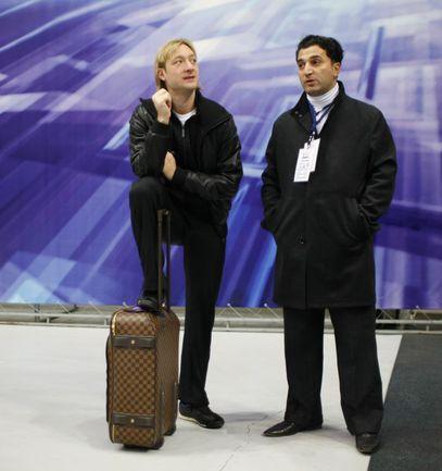 2009 год. Евгений ПЛЮЩЕНКО и Ари ЗАКАРЯН. Фото Александр ВИЛЬФ
