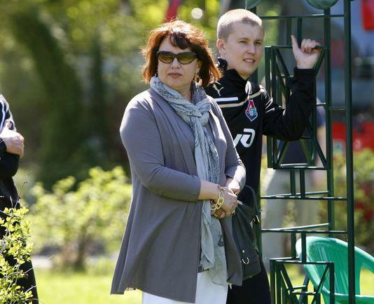 Олига СМОРОДСКАЯ приказала не пускать Леонида Кучука на базу клуба в Баковке. Фото REUTERS