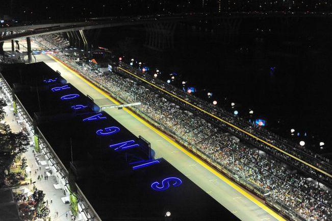 """Сингапур готов к очередному этапу """"Гран-при"""". Фото REUTERS"""