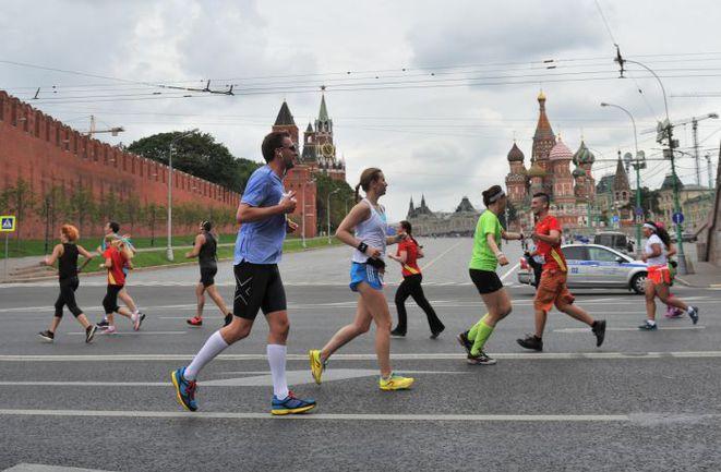 """Москва набирает темп. Фото Федор УСПЕНСКИЙ, """"СЭ"""""""