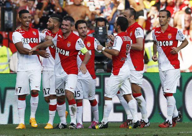 """Во всех семи матчах сезона (включая Лигу чемпионов) """"Монако"""" забивал ровно по одному голу. Трижды этого оказывалось достаточно для победы. Фото AFP"""
