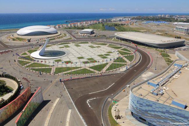 "Трасса ""Формулы-1"" в Сочи. . Фото sochiautodrom.ru"