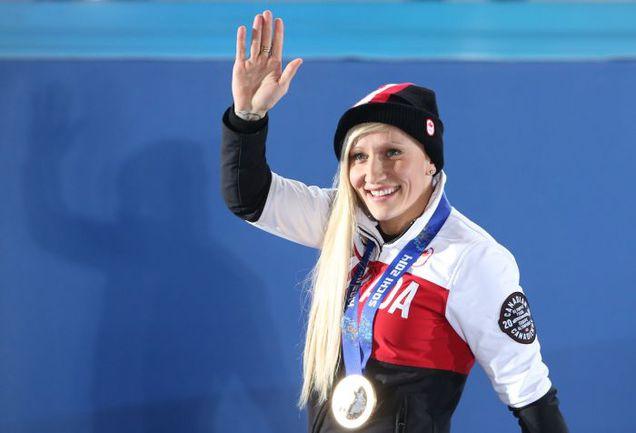 Двукратная олимпийская чемпионка Кейли ХАМФРИС из Канады - одна из главных инициаторов появления смешанных экипажей. Фото AFP