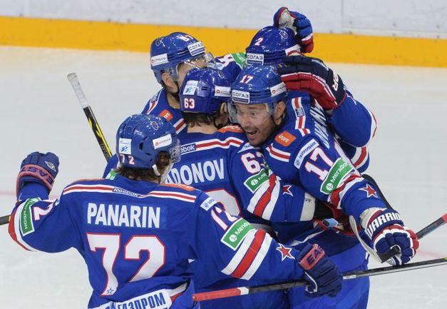 СКА ударно начал сезон-2014/15. Фото photo.khl.ru