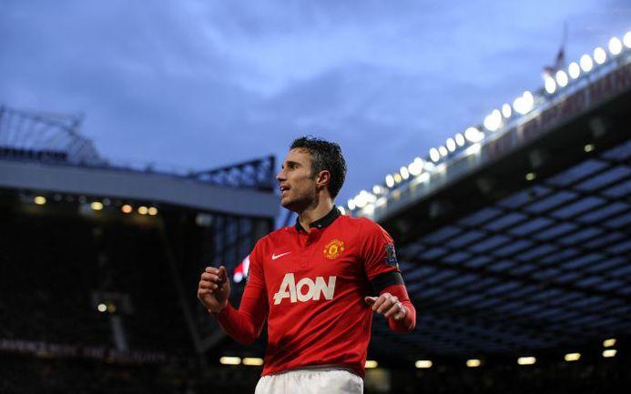 "Нападающий ""Манчестер Юнайтед"" Робин ВАН ПЕРСИ. Фото AFP"