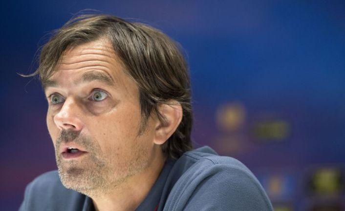 Главный тренер ПСВ Филип КОКУ. Фото AFP