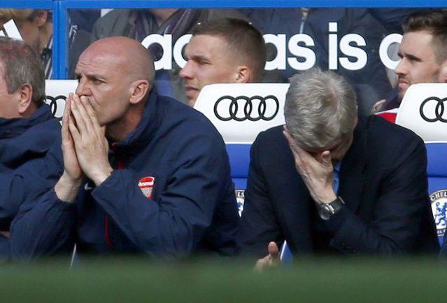 """В марте этого года """"Арсенал"""" Арсена ВЕНГЕРА получил шесть безответных мячей на """"Стэмфорд Бридж"""". Фото REUTERS"""