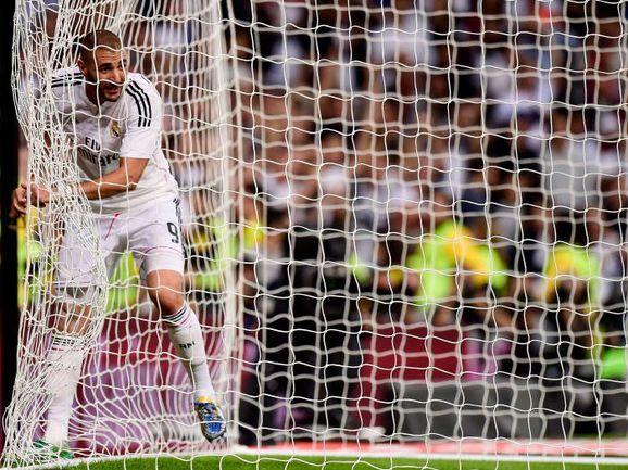 """Воскресенье. Мадрид """"Реал"""" – """"Атлетик"""" – 5:0. Карим БЕНЗЕМА. Фото REUTERS"""