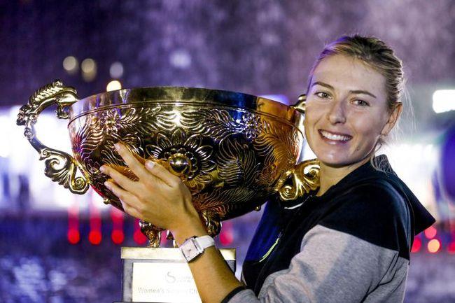 Триумфатор турнира в Пекине - Мария ШАРАПОВА. Фото AFP