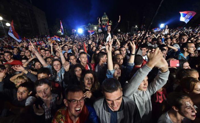 Матч Сербии и Албании пройдет без болельщиков гостей. Фото AFP