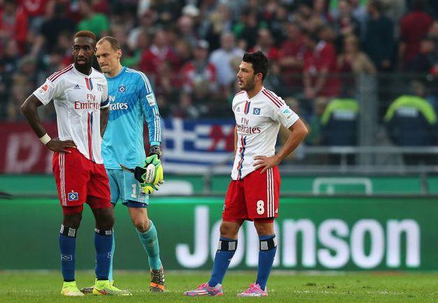 "Игроки ""Гамбурга"" никак не могут преодолеть спад. Фото REUTERS"